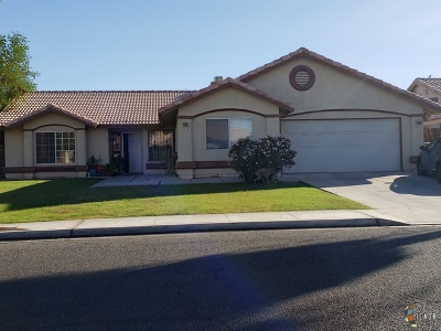 Calexico Single Family Home For Sale: 1130 Holdridge St