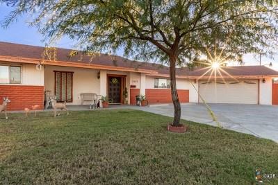 El Centro Single Family Home For Sale: 1415 Aurora Dr