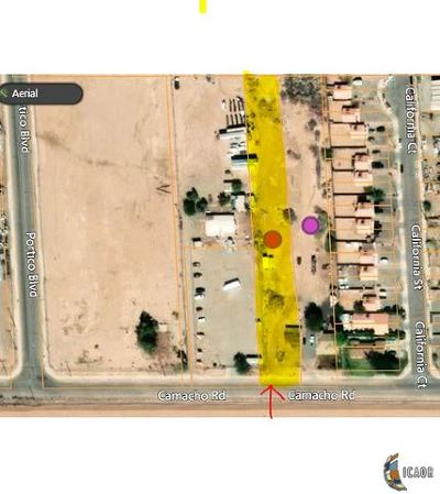 Calexico Commercial Lots & Land For Sale: 374 Camacho St