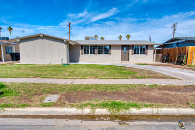 El Centro Single Family Home For Sale: 1538 Sandalwood Dr