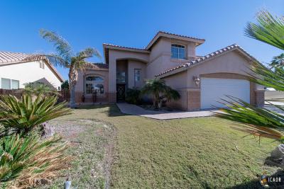 Calexico Single Family Home For Sale: 2166 Joe Acuna Ct