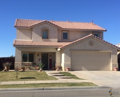 El Centro Single Family Home For Sale: 3460 Cattail Ct