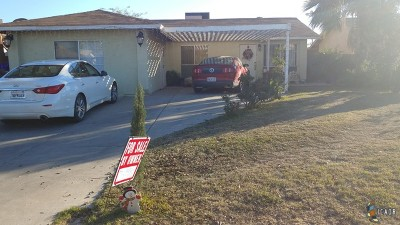 Calexico Single Family Home For Sale: 928 Calexico St