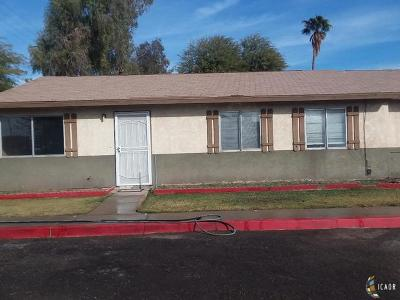 El Centro Single Family Home For Sale: 1257 6th St