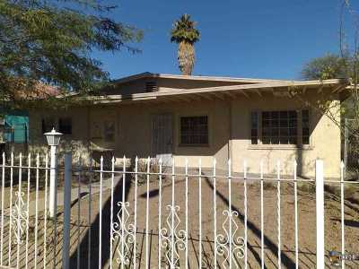 Calexico, Imperial Single Family Home For Sale: 609 E 2nd St