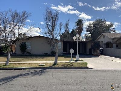 El Centro Single Family Home For Sale: 1537 Sandalwood Dr