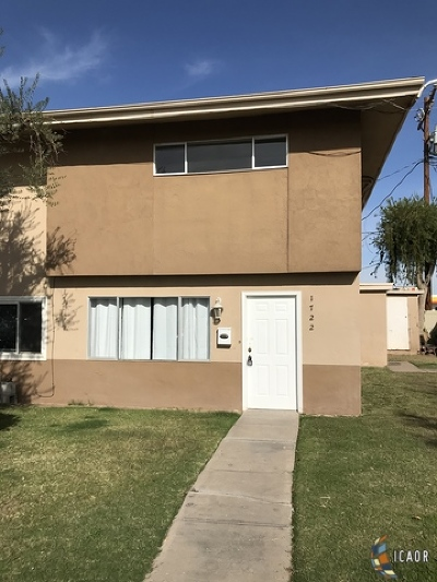 El Centro Single Family Home For Sale: 1722 S 4th St