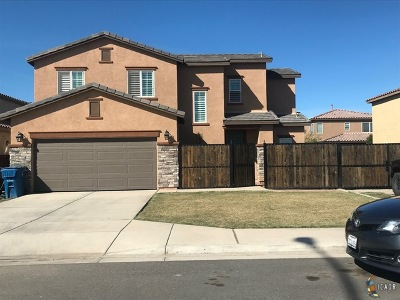 Imperial CA Single Family Home Contingent: $240,000