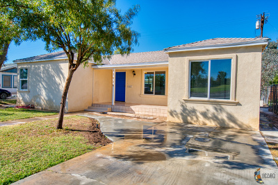 El Centro Single Family Home For Sale: 1024 Ross Ave