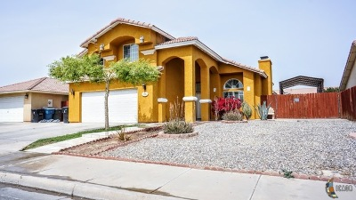 Calexico, Imperial Single Family Home For Sale: 295 Canon Dr