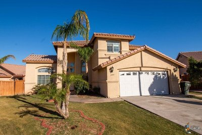Calexico, Imperial Single Family Home For Sale: 1954 Bush Ct