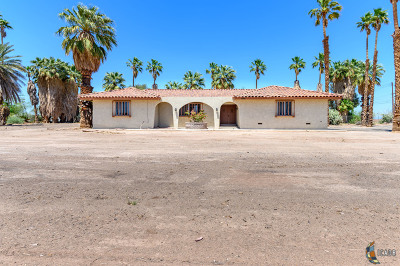 El Centro Single Family Home For Sale: 300 E Ross Rd