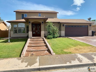 Calexico Single Family Home For Sale: 1024 Skyline St