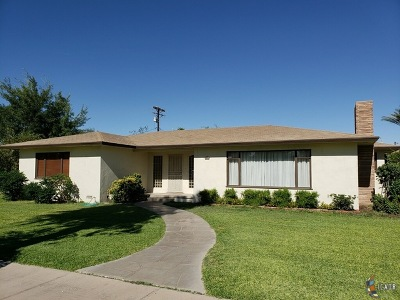 Brawley Single Family Home For Sale: 609 Gilmour St