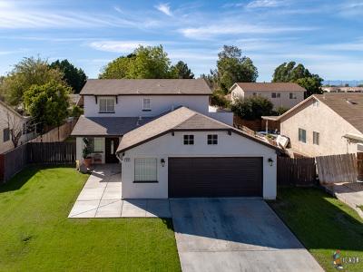 Brawley Single Family Home For Sale: 812 Steven St