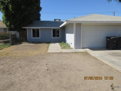 El Centro Single Family Home Contingent: 1025 W Hamilton Ave