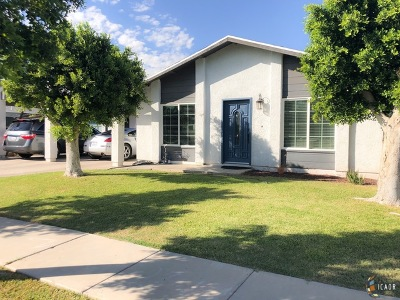 El Centro Single Family Home For Sale: 624 Sandy Ave