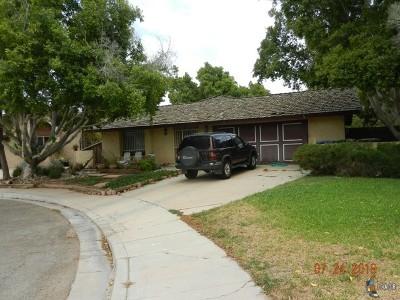 Calexico Single Family Home For Sale: 709 Armendariz Ct