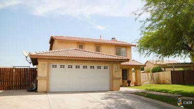 Brawley Single Family Home For Sale: 1072 Eucalyptus Ave
