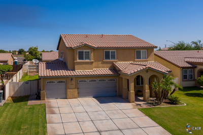 Calexico Single Family Home For Sale: 1233 Mc Millin St