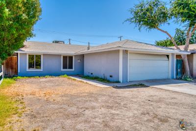 El Centro Single Family Home For Sale: 1025 W Hamilton Ave