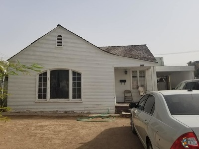 El Centro Single Family Home For Sale: 1411 W Olive Ave