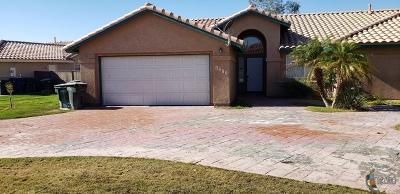 Calexico Single Family Home For Sale: 1273 Primavera Ct