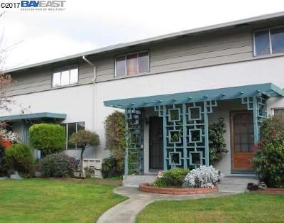 Hayward CA Condo/Townhouse For Sale: $315,000