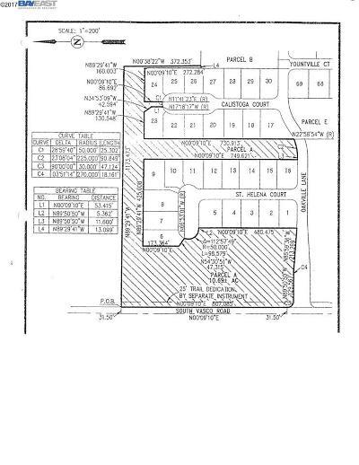 Livermore Residential Lots & Land For Sale: S Vasco & Oakville