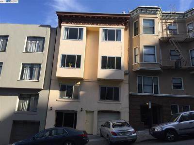 San Francisco CA Multi Family Home For Sale: $3,595,000