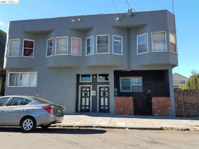 Oakland Multi Family Home Back On Market: 3215 Filbert St