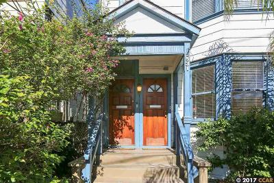 Alameda Single Family Home For Sale: 1531 Lincoln Ave