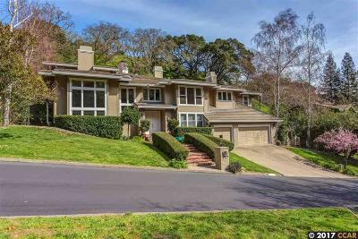 Orinda Single Family Home For Sale: 572 Dalewood Drive