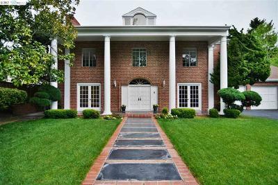 El Cerrito Single Family Home For Sale: 1150 Arlington Blvd