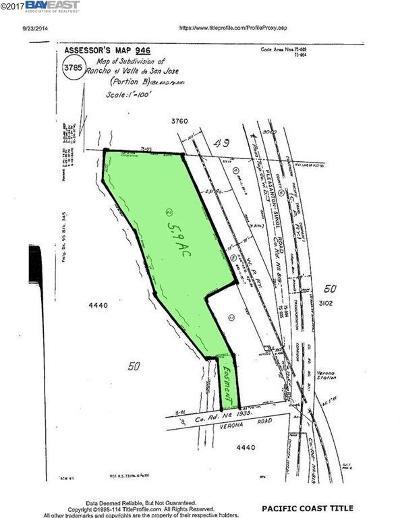 Pleasanton Residential Lots & Land For Sale: 3 Verona Rd
