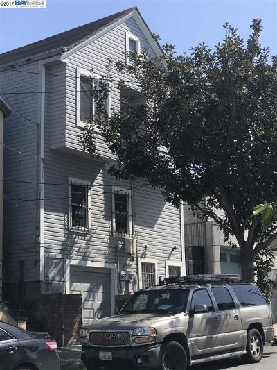 San Francisco Single Family Home For Sale: 1219 Lane St