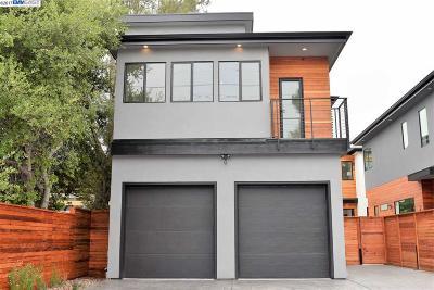 Berkeley Single Family Home For Sale: 1817-A Carleton Street