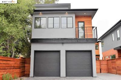 Berkeley Single Family Home Price Change: 1817 Carleton Street