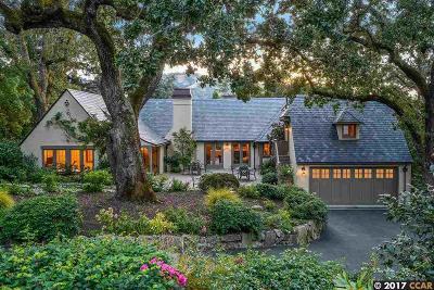 Orinda Single Family Home For Sale: 27 La Noria