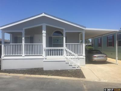Pleasanton Mobile Home For Sale: 3263 Vineyard Ave