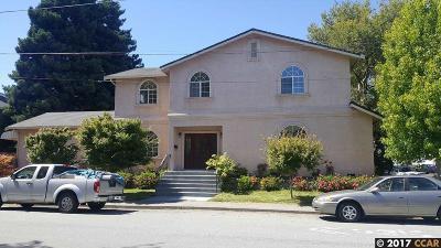 El Cerrito Single Family Home For Sale: 5819 Lassen Street