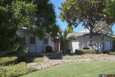 Walnut Creek Single Family Home Price Change: 2602 Breton Place