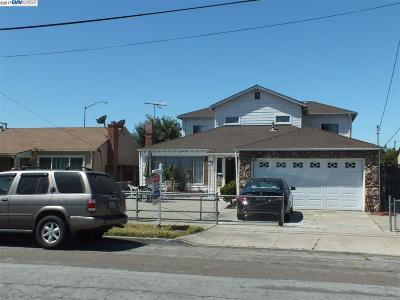 San Leandro Single Family Home For Sale: 1459 Leonard Dr.