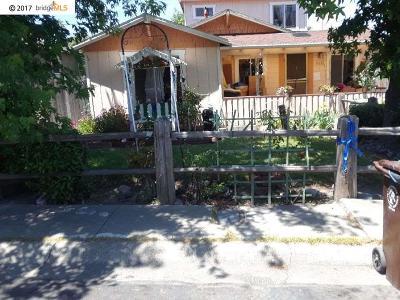 Pinole Single Family Home For Sale: 916 4th Avenue