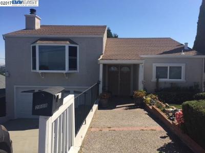 Hayward Single Family Home For Sale: 2868 Chronicle Avenue