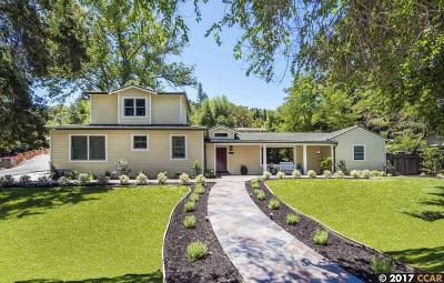 Walnut Creek Single Family Home For Sale: 550 Lakewood Cir