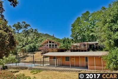 Diablo Single Family Home For Sale: 2626 Mount Diablo Scenic Blvd