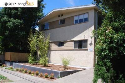 Berkeley Single Family Home New: 2003 Berkeley Way