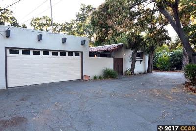 Walnut Creek Single Family Home Price Change: 123 Murwood Ct