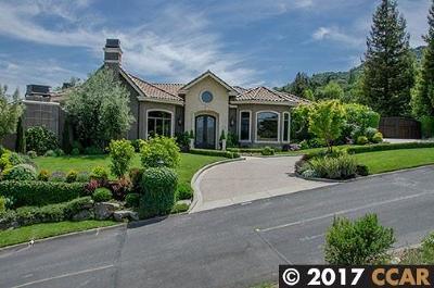 Danville Single Family Home For Sale: 491 Montcrest Pl